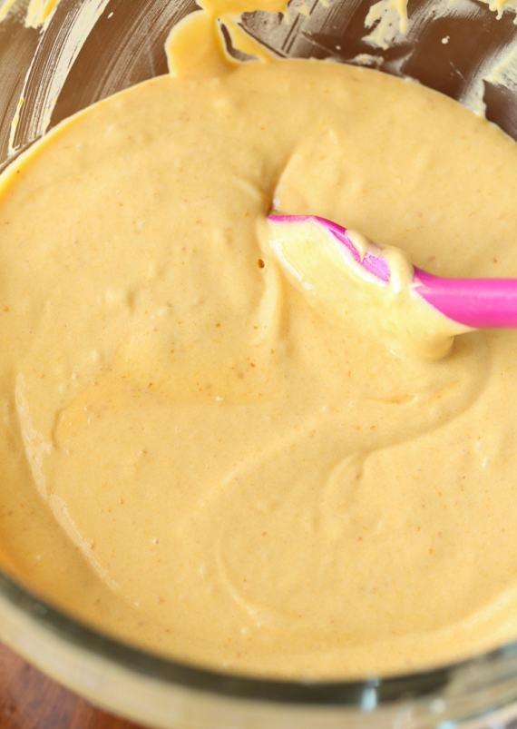 Perfect Pumpkin Cake Batter