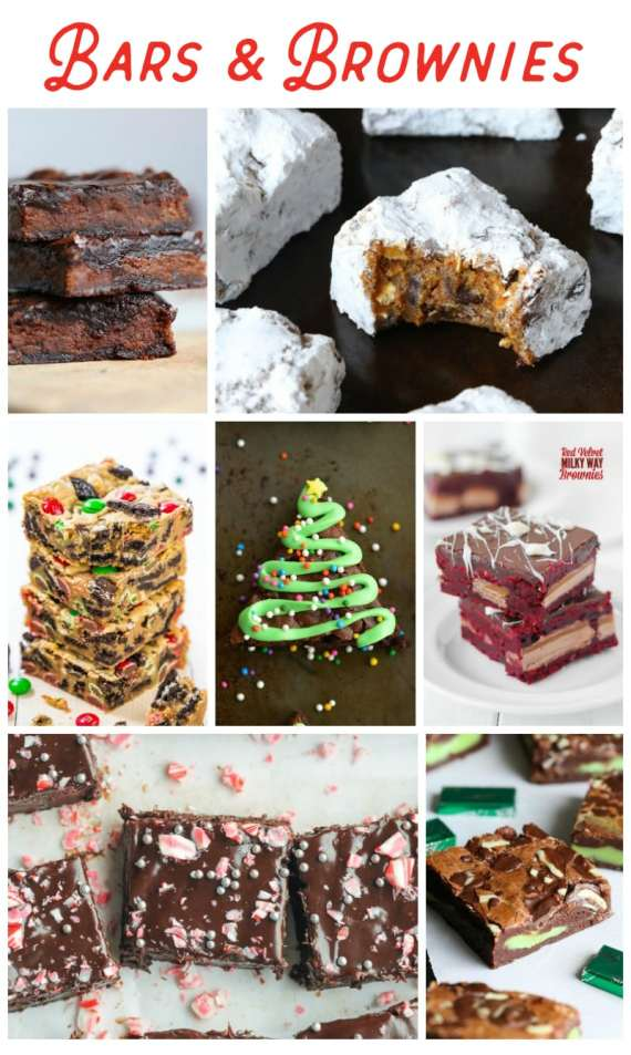 Holiday Bar Cookies and Brownies