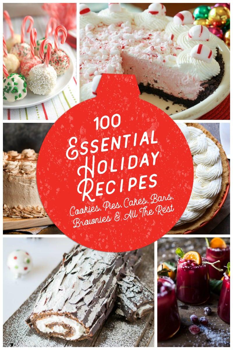 100 Essential HOliday Recipes