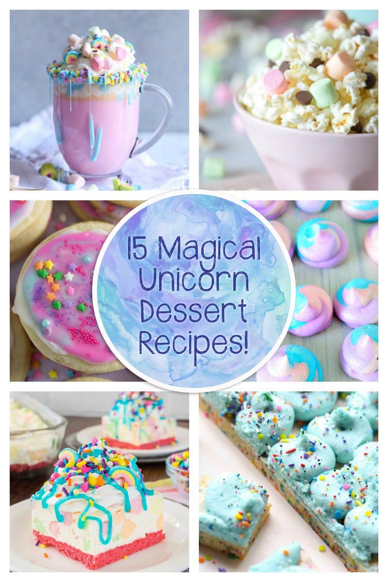 15 Unicorn Inspired Treats!