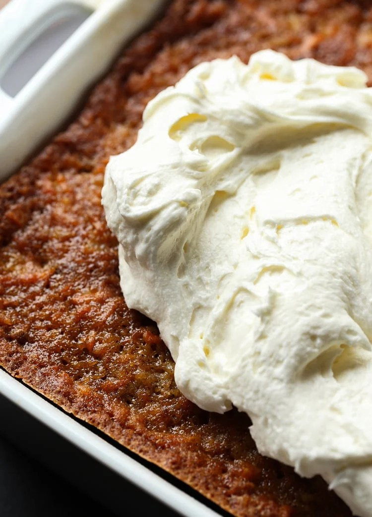 9x13 carrot cake recipe