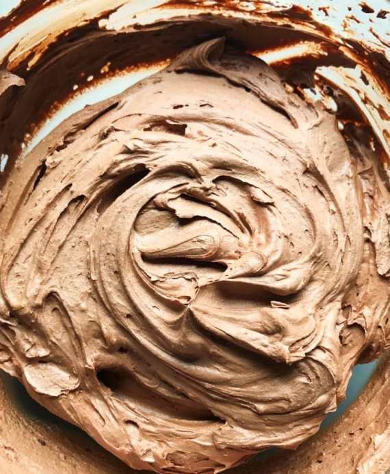 The creamiest chocolate frosting you will ever have!