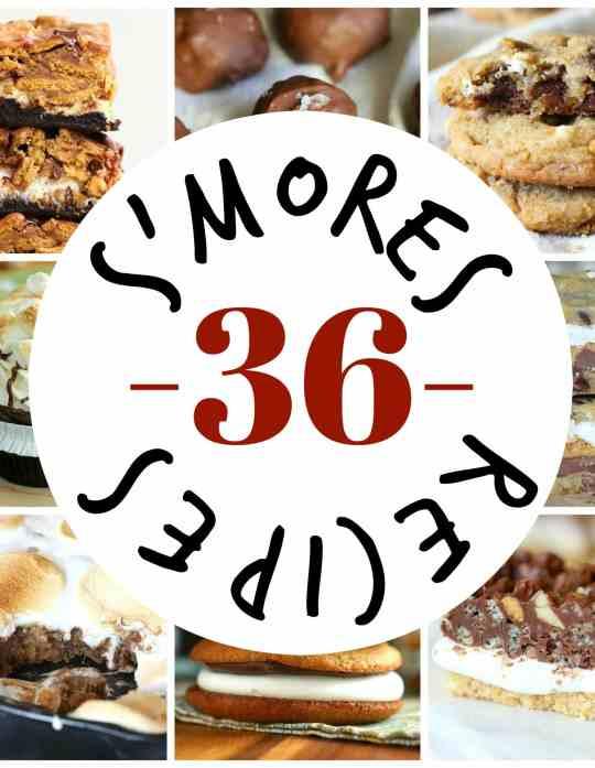 36 S'mores Recipes!!