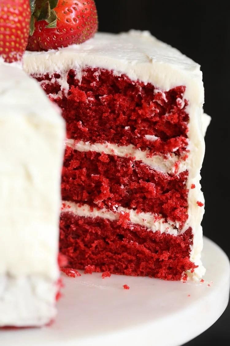 Red Velvet Cake Crumb