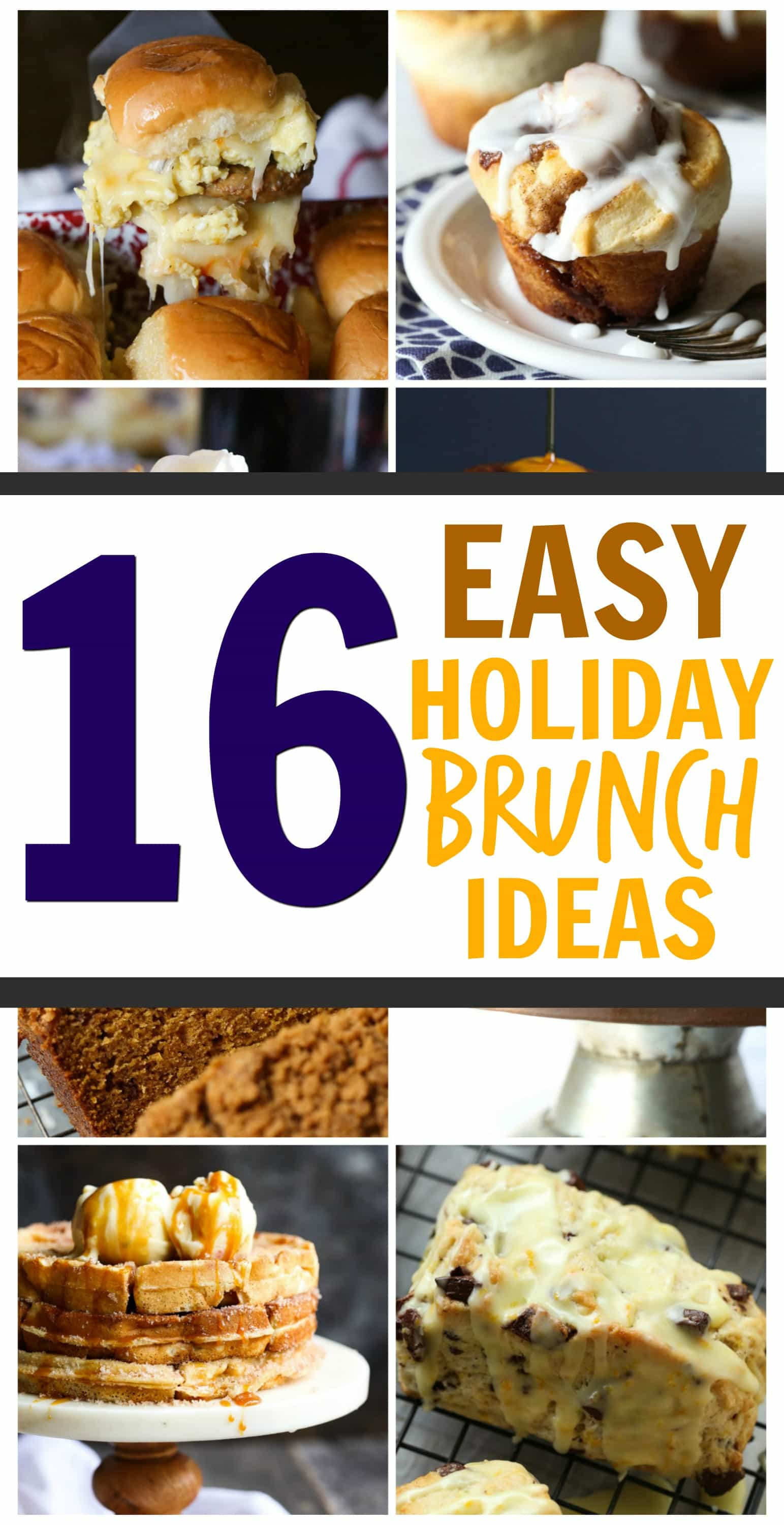 16 easy holiday brunch recipes cookies and cups. Black Bedroom Furniture Sets. Home Design Ideas