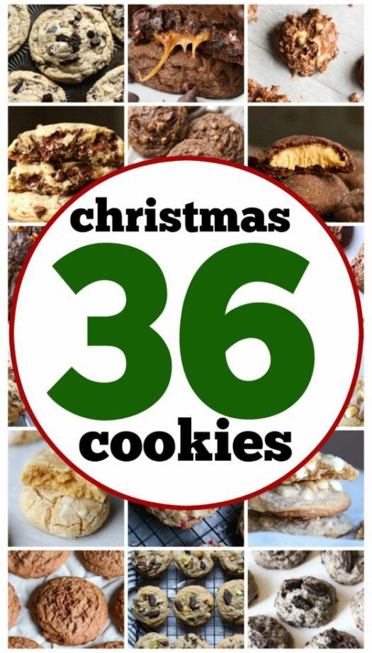 36 Christmas Cookies