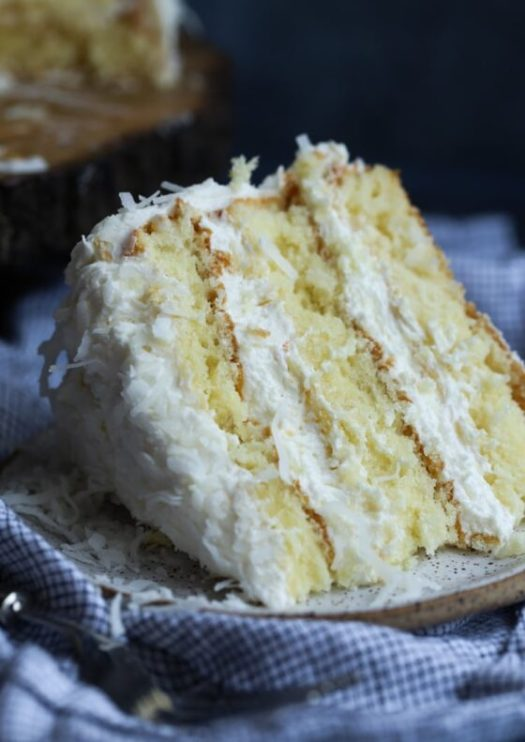 The Very Best Coconut Cake