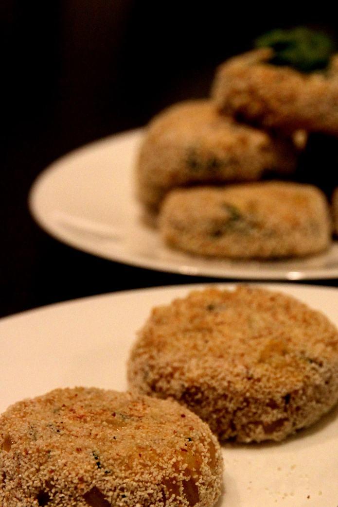 Quinoa Tikki/Pattie
