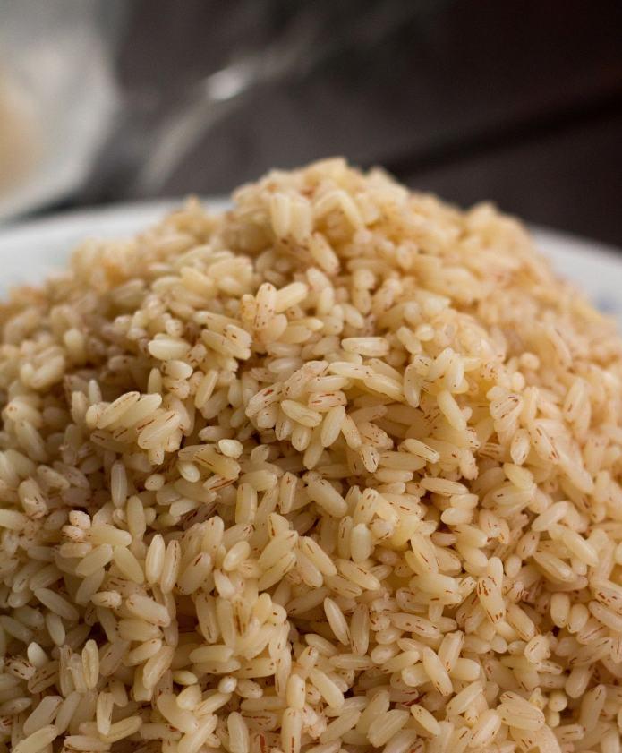 Soaked matta rice