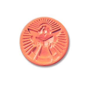 1002 Angel Singing cookie stamp | cookiestamp.com