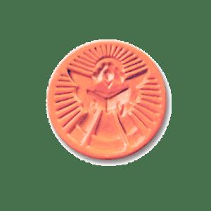 1002 Angel Singing cookie stamp | cookiestamp.com