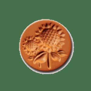 1009 Sunflower cookie stamp | cookiestamp.com