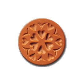1025 Circle of Love cookie stamp | cookiestamp.com