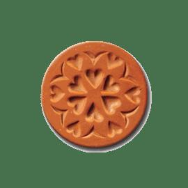 1025 Circle of Love cookie stamp | cookiestamp.com
