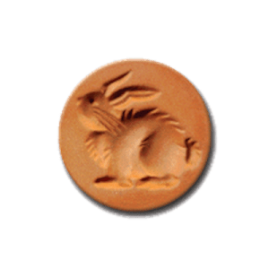 1045 Easter Bunny Cookie Stamp | CookieStamp.com
