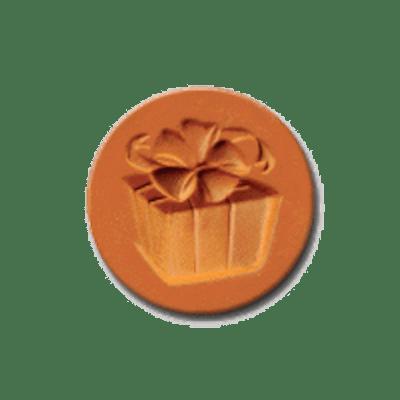 1067 Gift of Love Cookie Stamp | CookieStamp.com