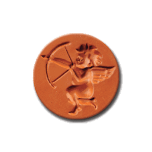 1073 Cupid With Bow Cookie Stamp | CookieStamp.com