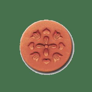 CR 206 Rycraft Hearts and Flowers Craft Stamp | CookieStamp.com