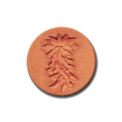 292 Heirloom Rycraft Chili Peppers Cookie Stamp | CookieStamp.com