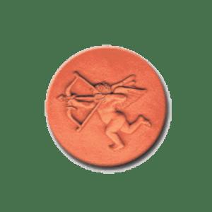 378 Heirloom Rycraft Cupid With a Bow Cookie Stamp | CookieStamp.com
