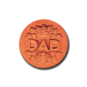 384 Heirloom Rycraft Dad Cookie Stamp | CookieStamp.com
