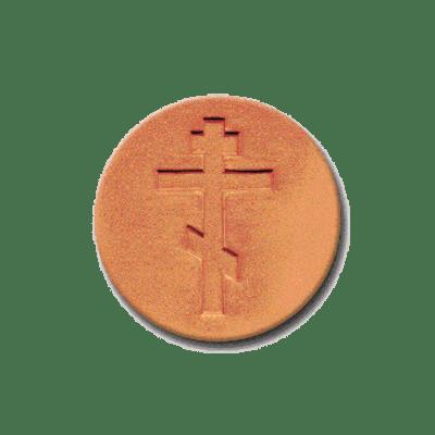 429 Heirloom Rycraft Russian Cross Cookie Stamp | CookieStamp.com