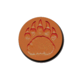 456 Heirloom Rycraft Bear Claw Cookie Stamp | CookieStamp.com