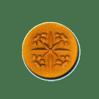 509 Heirloom Rycraft 4 Paw Prints Cookie Stamp | CookieStamp.com