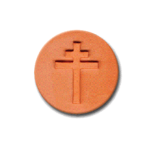 519 Heirloom Rycraft Orthodox Cross Cookie Stamp | CookieStamp.com