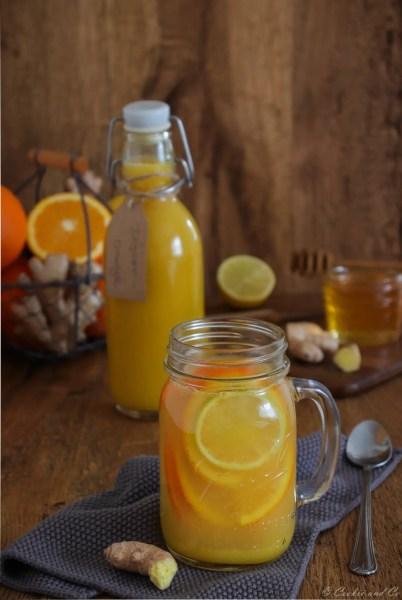 Ingwer-Orangenkonzentrat