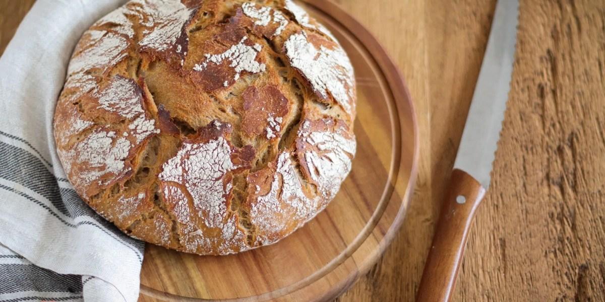 No Knead Bread 2.0 (mit Hefewasser)