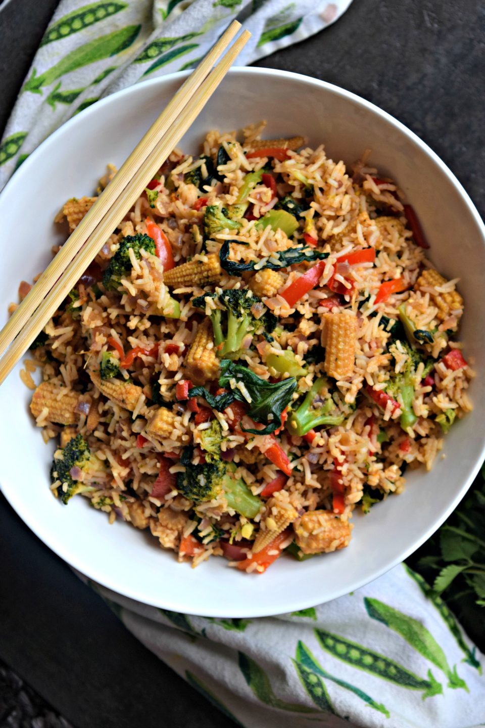 Vegetarian Thai Chilly Fried RiceFlavors Of Rice International Cuisine