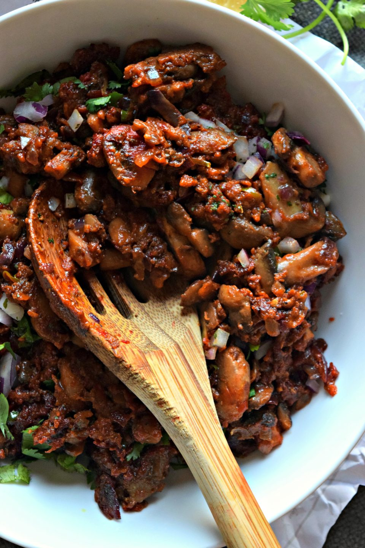 Mushroom Kalan Masala/ Mushroom Stir FryCurries & Gravies