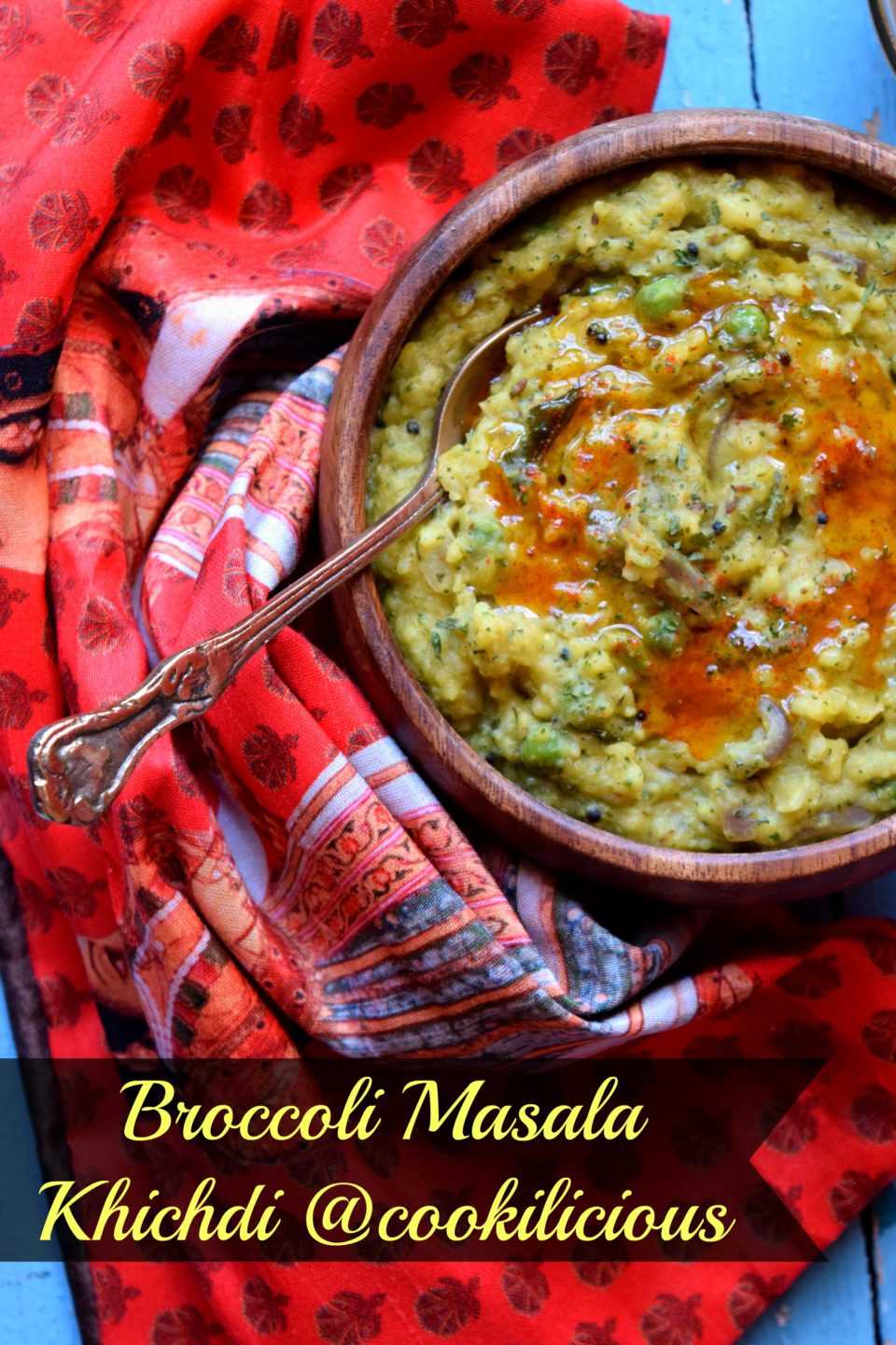 Best Broccoli Masala Khichdi Ever!Flavors Of Rice