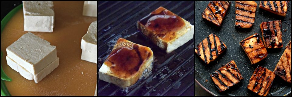 Grilled Tofu Bites with Dorot Basil - Summer SpecialAppetizers & Snacks