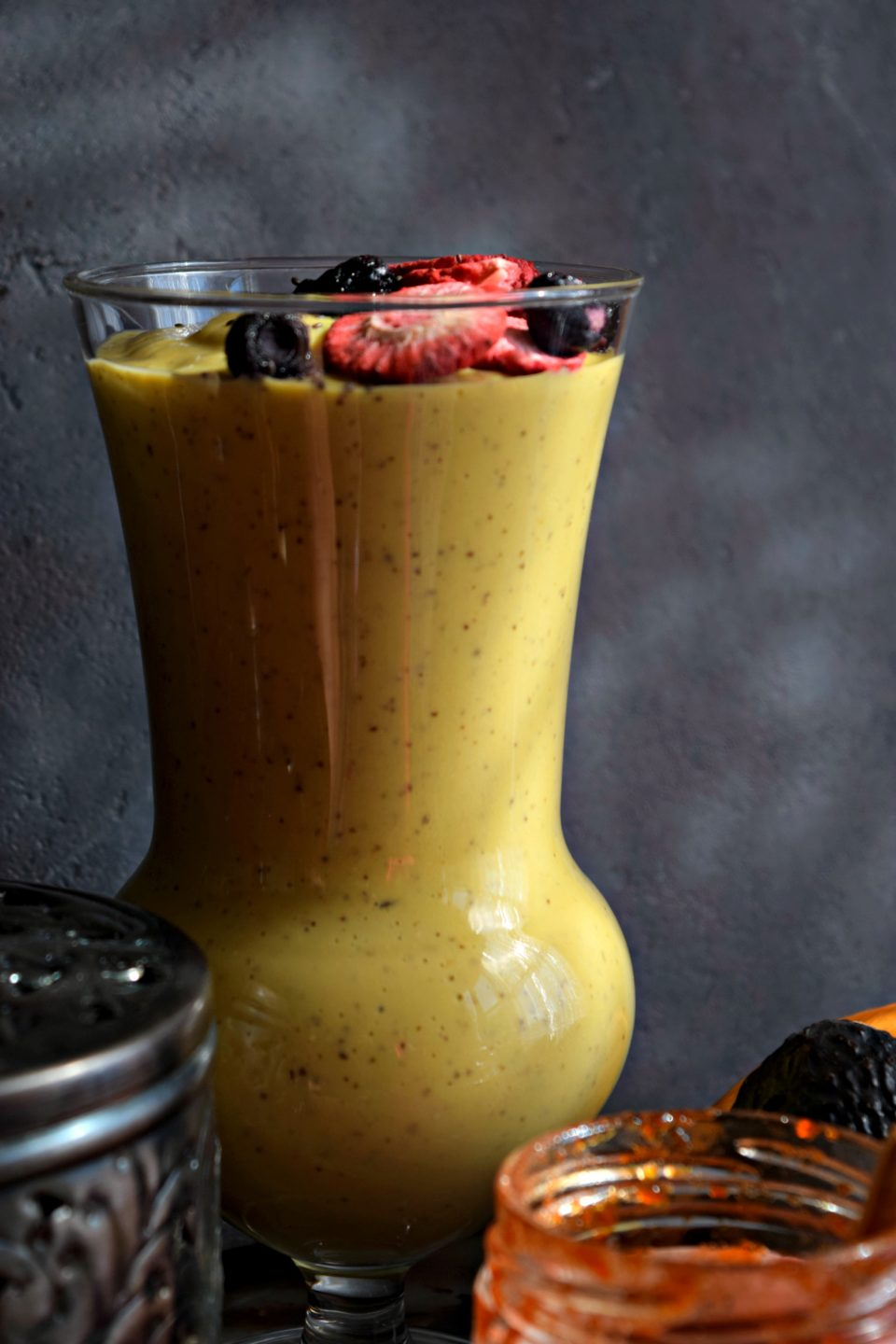 Vegan Mango Avocado SmoothieDrinks Power Breakfasts