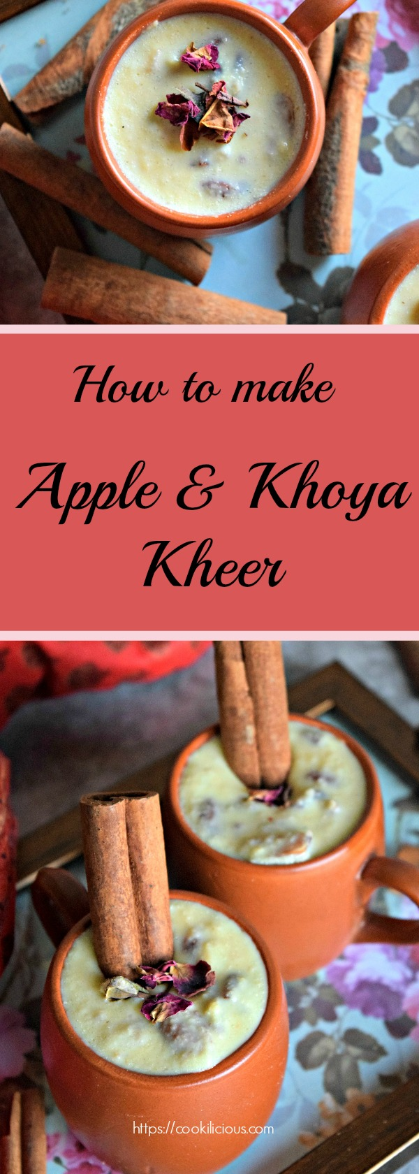 Apple Khoya Kheer - An Indian Dessert!Desserts