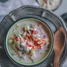 Maharashtrian Koshimbir | Indian Veggie & Yogurt Salad