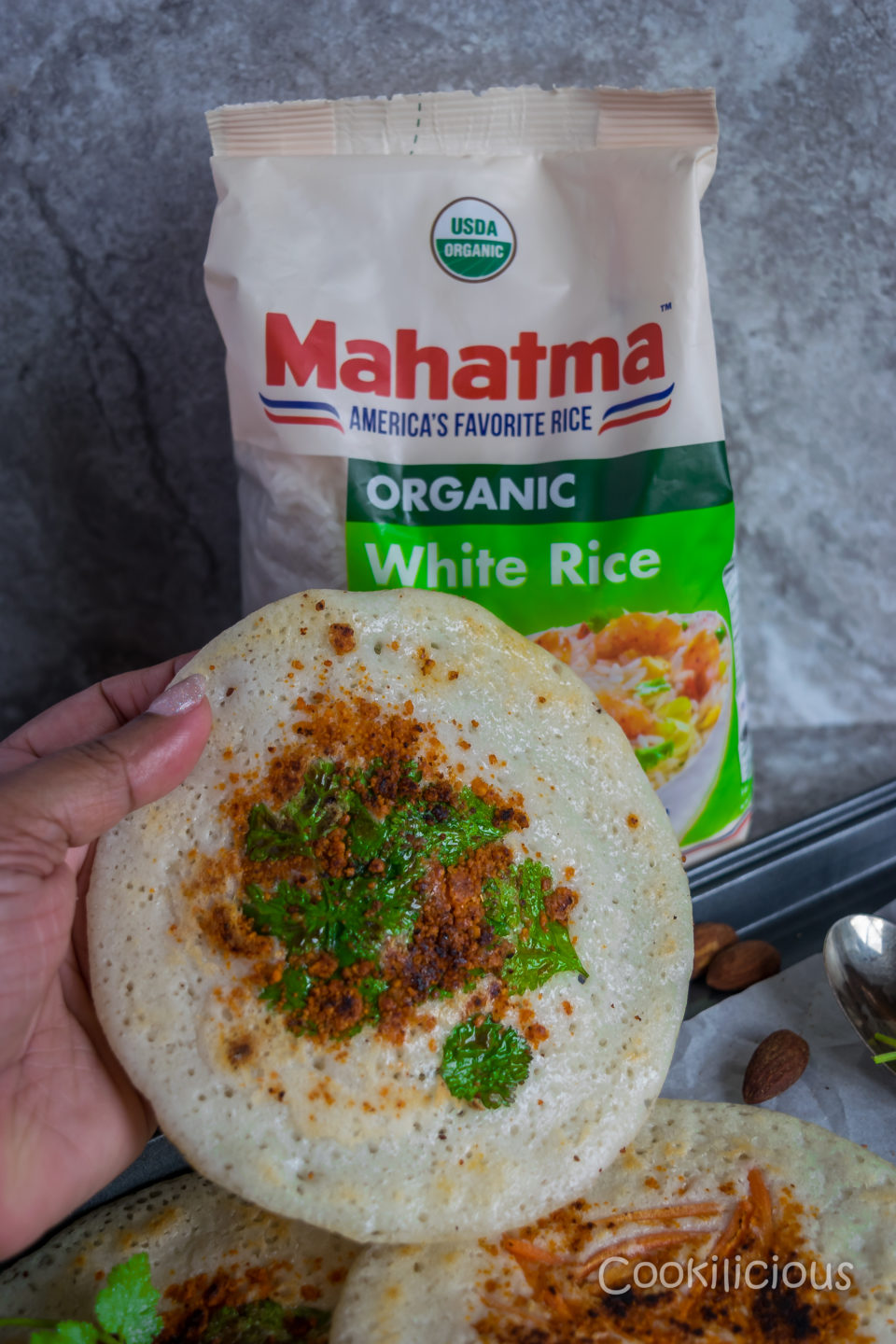 How to make Uttapam/Dosa Batter with Mahatma RicePower Breakfasts South Indian
