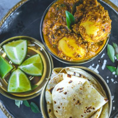 Spicy Chettinad Style Egg Roast Curry
