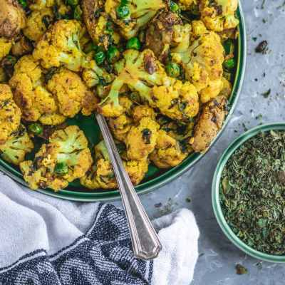 Indian Gobi Methi Dry | Cauliflower Fenugreek Curry