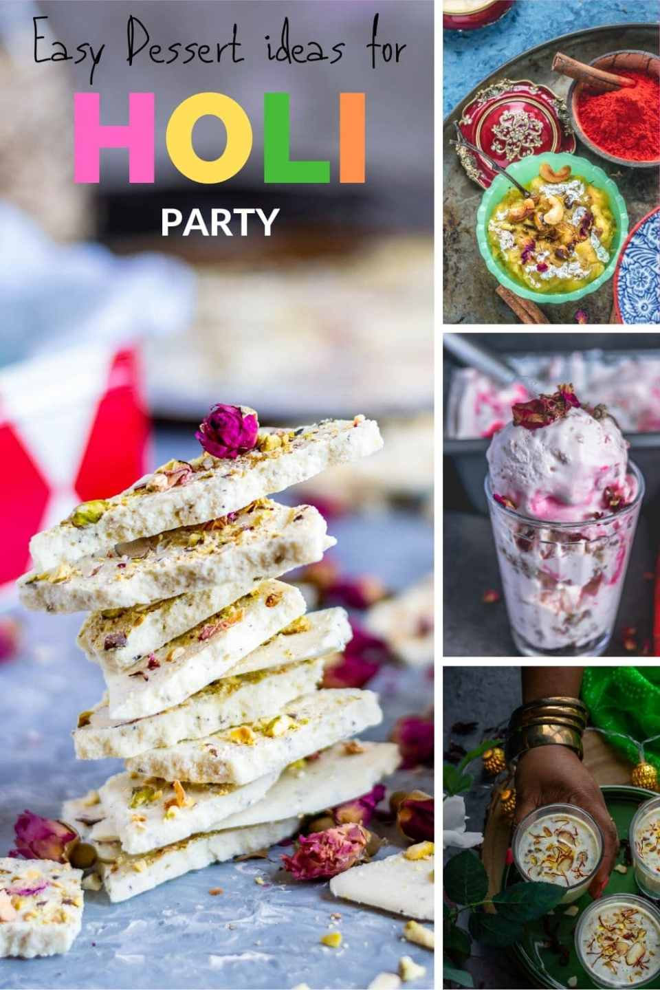 collage of recipes to make this festive season