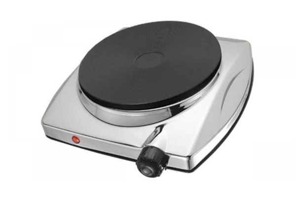 Full Range Thermostat 1000w Electric Stainless Steel Single Hot Plate