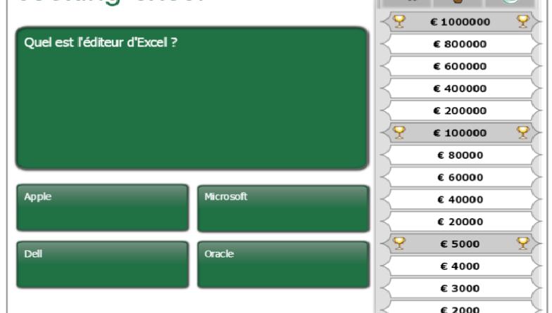Jouez avec Cooking-Excel