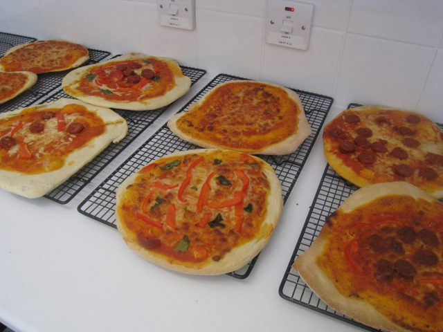 pizza making, party food, fun, childrens parties