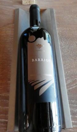 Barriu red from Vigne Surrau