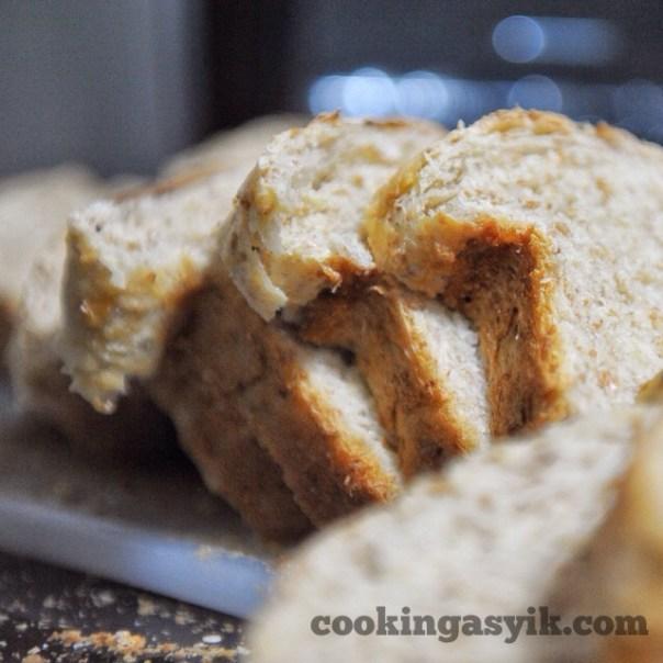 Resep membuat roti buttermilk gandum mudah