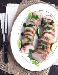 Jamaican Jerk Pork Loin - CookingBride.com