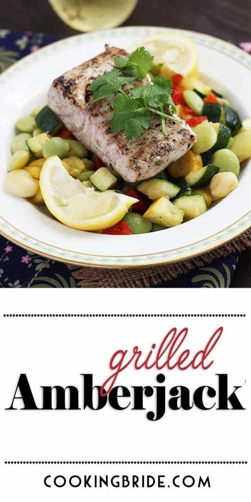 Grilled Amberjack Recipe