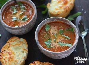 Tomato Basil Soup - CookingBride.com